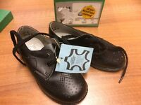 Vintage Childs Shoe, Size 6, Real Leather, Made in England