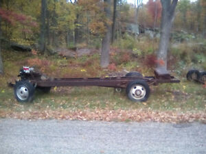 1976 Chevy 1 Tonne Rolling Chassis