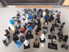 Non-Lego Star Wars Figures and Droids