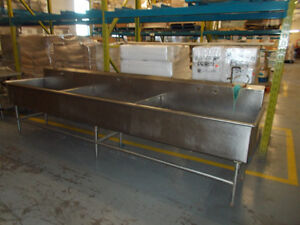 12' Stainless Steel Commercial Sink