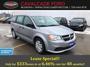 2016 Dodge Grand Caravan SE / SXT no reported accidents!!