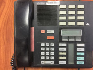Nortel NT8B20AB Phones - 12 available  Aastra A1259 Series