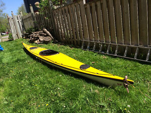 17 foot Fiberglass Sea Kayak - 'Beluga'
