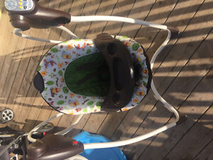 Greco Baby musical swing
