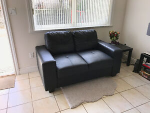 Leather Couch / Loveseat. Like new!