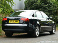 2005 54 Audi A4 2.0TDI SE 140 BHP TURBO DIESEL 6 SPEED FSH CAMBELT CHANGED 60MPG