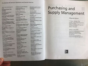 Supply Chain Textbook - Purchasing and Supply Management