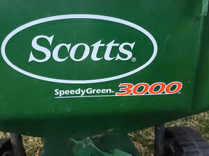 Scott's large grass seed spreader