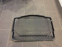 VW Golf Mk 7 2012 onwards Boot Liner Mat Tray - Bottom Level of Boot and Bumper protector