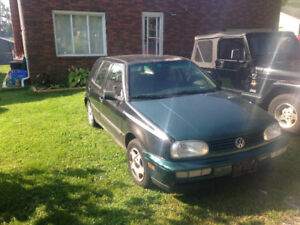 1996 Volkswagen Golf Hatchback