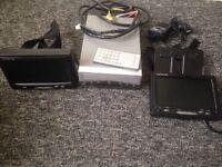 Centurion 2/ 7inc screens with DVD player