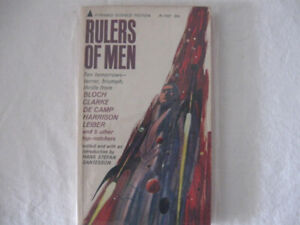 Rulers Of Men Sci-Fi collection-1965 Pyramid edition paperback