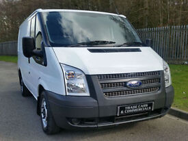 FORD TRANSIT SWB 2.2 TDCI 280 PANEL VAN 2012 62 WHITE