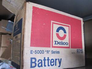 1969 NOS Delco R71 S Battery still in original packaging!
