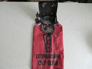 Fire extinguisher mounting Bracket & cover