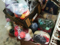 Tons of bags of wool Can sell seperate or all for $100