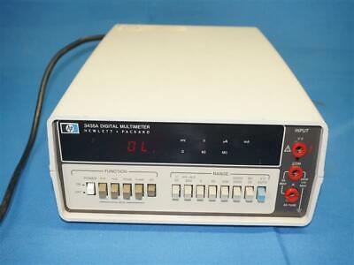 Hp Agilent 3435a Digital Multimeter