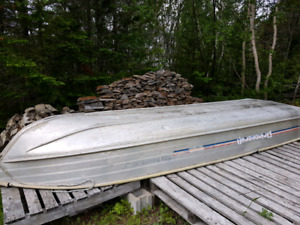 14 foot aluminum boat with 8 hp motor