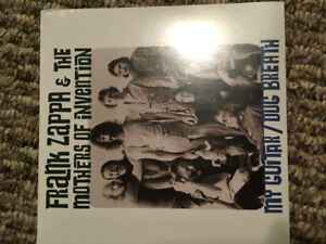 Frank Zappa &The Mothers Of Invention My Guitar/Dog Breath Vinyl