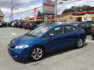 2011 Honda Civic DX-G  FREE 1 YEAR PREMIUM WARRANTY INCLUDED!