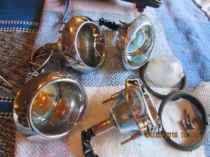 MUSTANG COMPLETE CLEAR GLASS//DOOR/HOOD TRUNK HINGES
