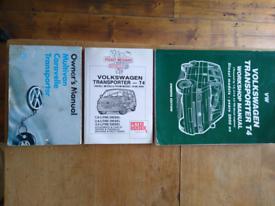 VW T4 manuals