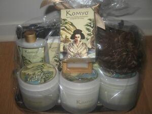 Dans un Jardin panier cadeau NEUF de produits naturels Komyo