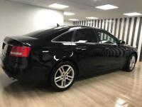 Audi A6 Saloon 2.0TDI DIESEL AUTOMATIC SAT NAV BLUETOOTH LEATHER S LINE ALLOYS