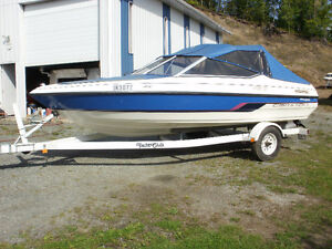 1996  17 ft. Campion Bowrider with 1996 Yacht Club Trailer