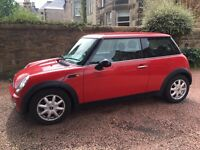 MINI COOPER 1 lady owner From new 59000 miles FSH excellent condition Px swap