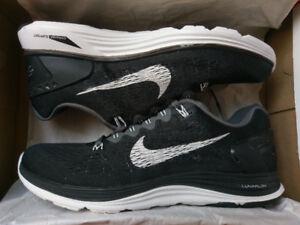 Nike Lunarglide + 5 - US9.0 - Black/White BNIB