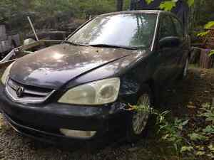 Parting Out a 2003 Acura EL, Honda Civic Kingston Kingston Area image 2