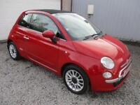 2009 Fiat 500 1.3 Multijet Lounge 2dr diesel, soft top 2 door Convertible
