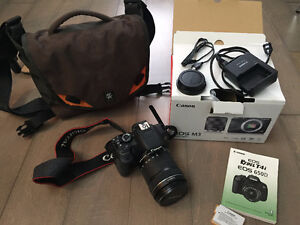 Canon Eos Rebel T4i 650D with EFS 18 - 135mm lense