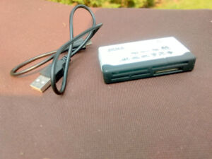All in one USB Card Reader, USB Cord Included