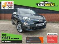 2016 Fiat 500X 1.4 MultiAir Lounge DCT (s/s) 5dr SUV Petrol Automatic