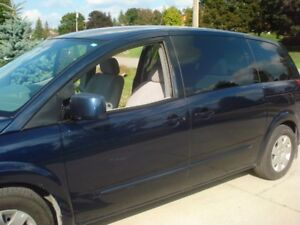 2005 Nissan Quest Minivan, great condition, fully certified