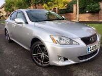 "2008 Lexus IS220D Sat-Nav Grey Leather Heated Seats Tinted 18""Alloys Cruise Con 6spd Manual Dvd"