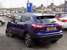 2015 15 NISSAN QASHQAI 1.6 DCI TEKNA 5DR * PAN ROOF LEATHER NAV * DIESEL