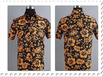 Fear and Loathing in Las Vegas Raoul Duke Flower T-Shirt Cosplay Costume Men Top - Raoul Duke Costume