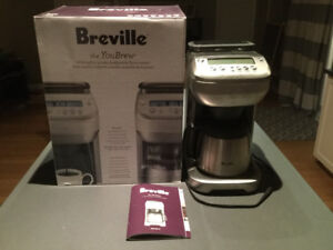 ALMOST NEW Breville You Brew Coffee Machine-built-in grinder