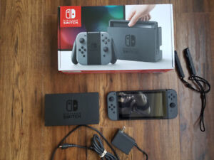 Nintendo Switch mint condition, barely used