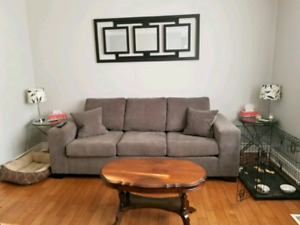 NEW PRICE - Leon's 3 seater couch