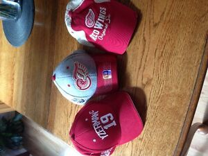 3 Red wing hats