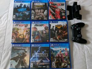 Playstation 4 Games/Controller