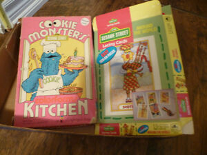Vintage Sesame Street Games Kitchener / Waterloo Kitchener Area image 1