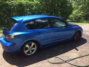 2006 Mazda 3 Sport Hatchback 110xxxkm on Engine and Transmission