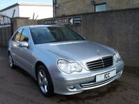 06 06 MERCEDES C180K AVANTGARDE SPORT SE AUTO 4DR LEATHER ALLOYS 2 OWNERS