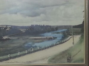Sutherland's river painting