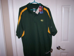 XL Edmonton Eskimos - CFL - Reebok Play Dry Shirt- new with tag